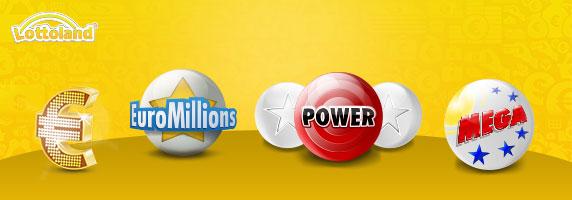 Lotterien im Lottoland