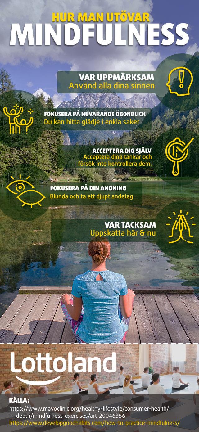 Hur man utövar mindfulness